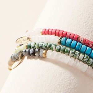 Anthropologie Peru Mix and Match Beaded Bracelets